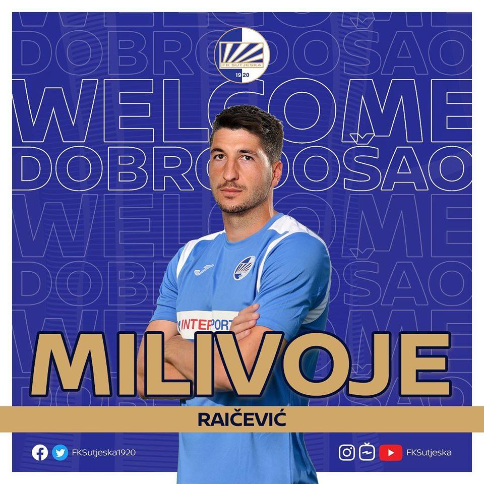 Milivoje Raičević novi igrač Sutjeske