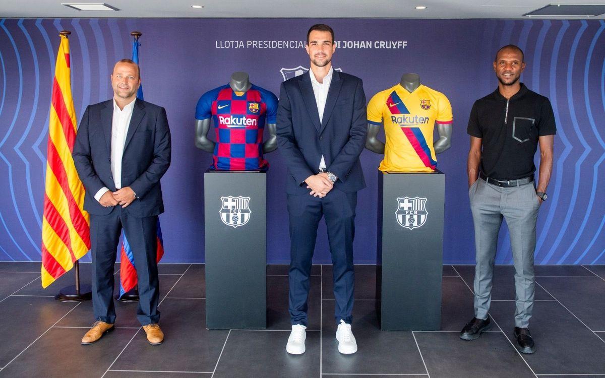 Lazar Carević u Barseloni do 2023. godine