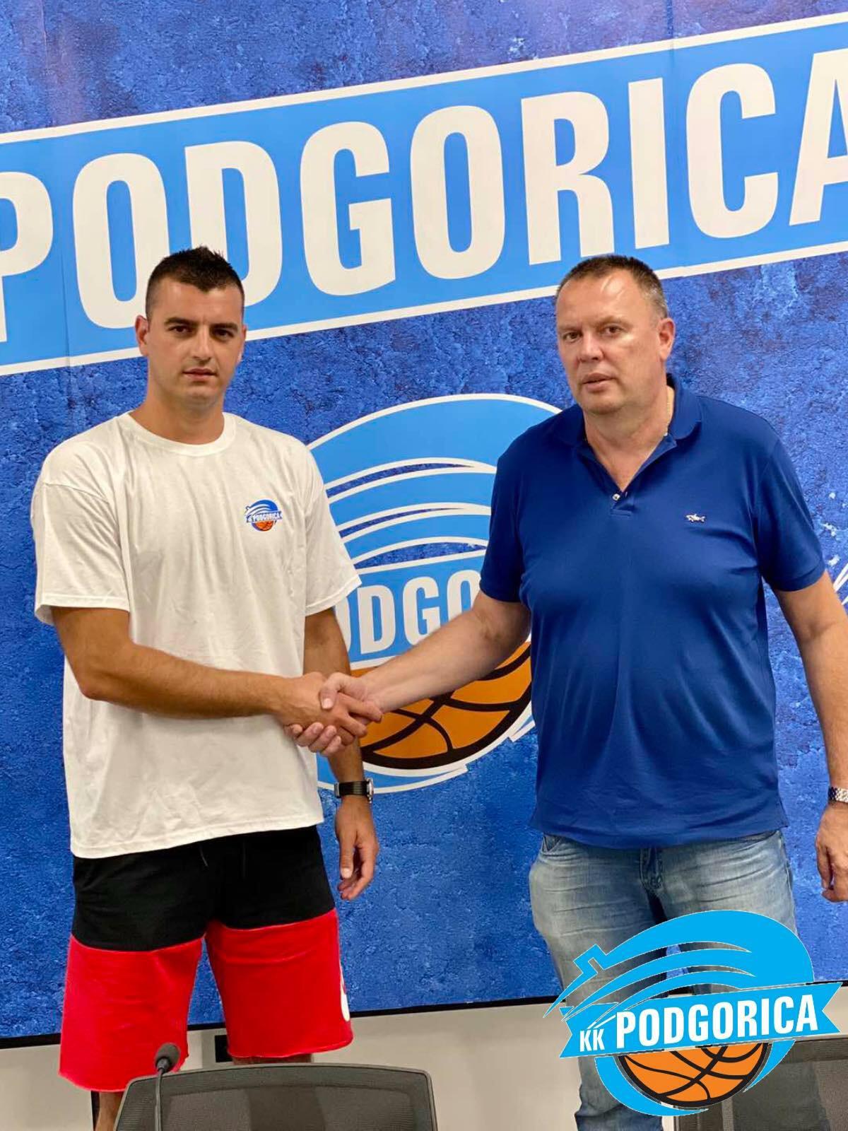 Marko Popović u novoj ulozi: Trener u KK Podgorica
