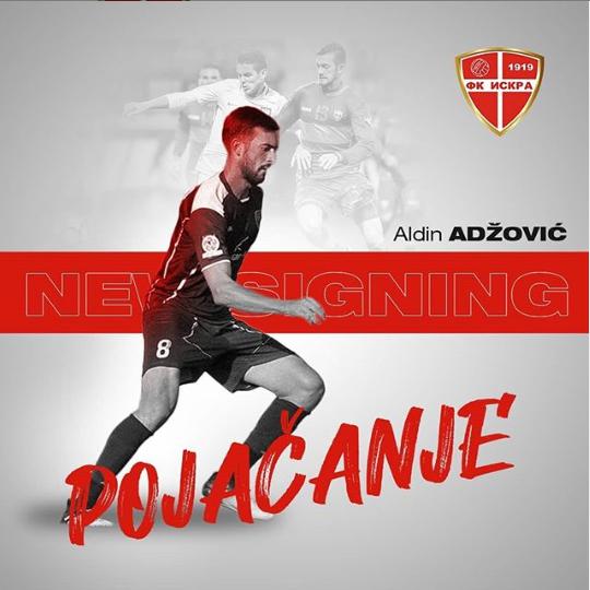 Adžović novi fudbaler Iskre