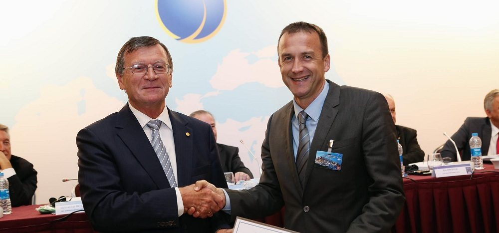 Boričić čestitao Pajkoviću reizbor na mjesto predsjednika OSCG