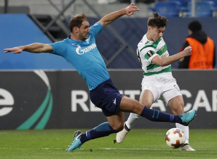 Zenit osvojio titulu: Ivanović tokom proslave slomio pehar