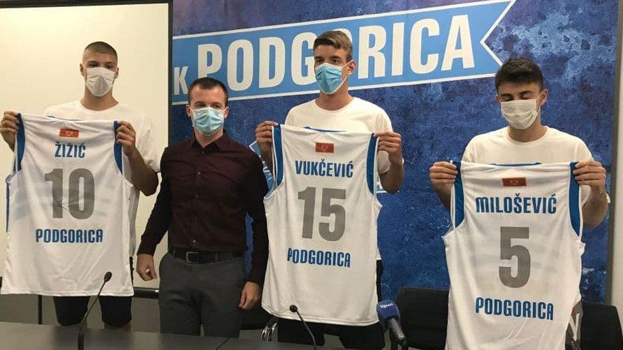 Podgorica predstavila pojačanja: Mladost je glavni adut