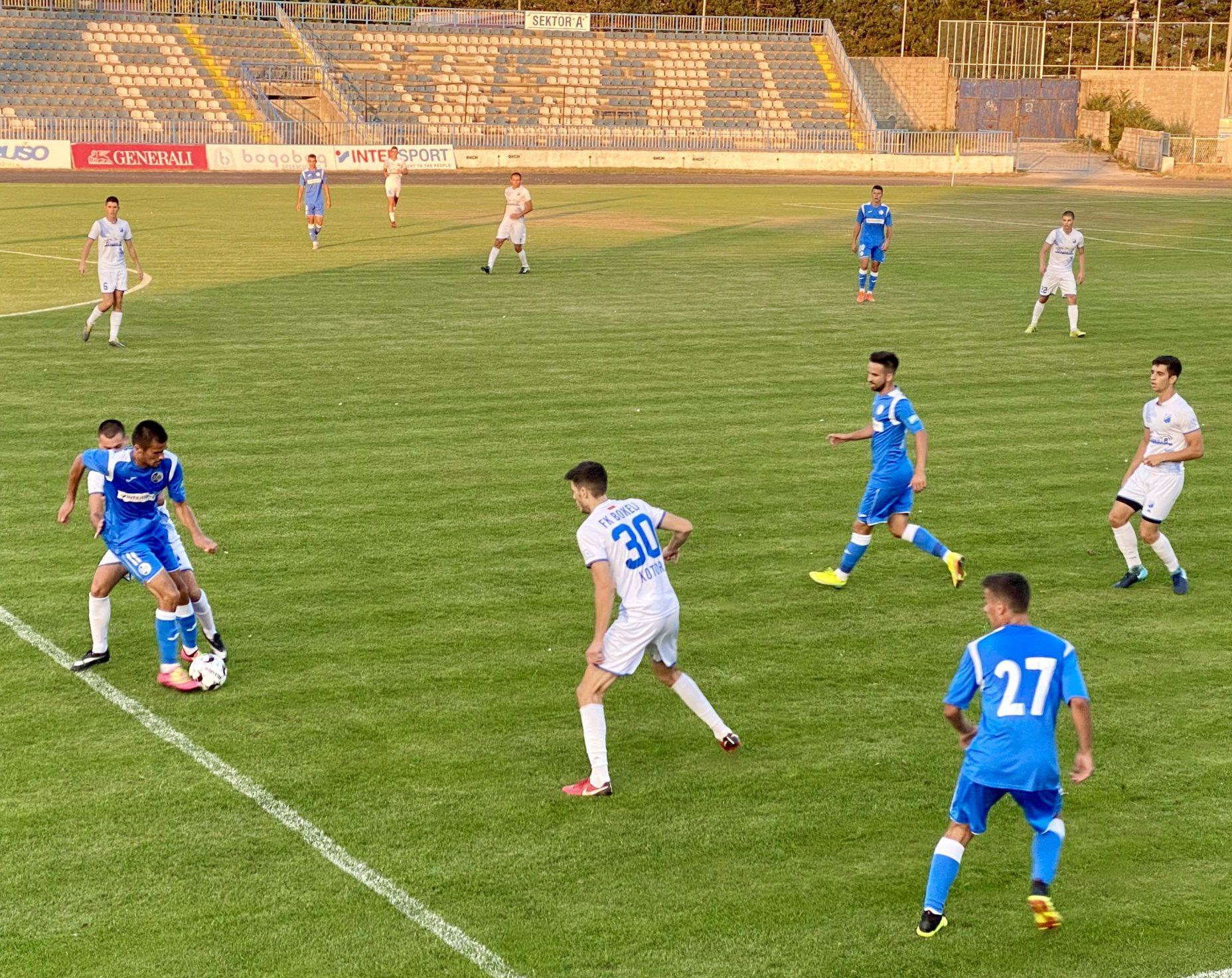 Sutjeska dala pet golova Bokelju