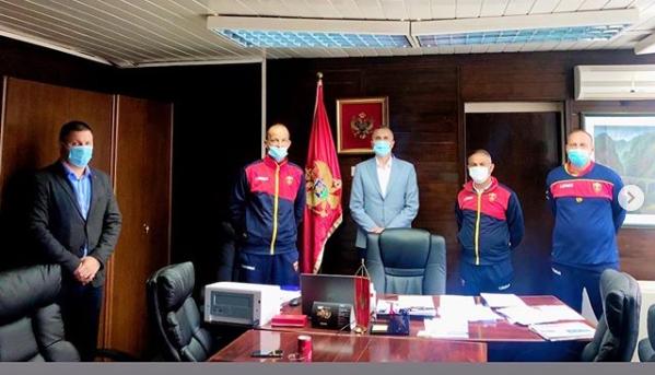 Opština Kolašin upriličila prijem za kadetsku fudbalsku reprezentaciju