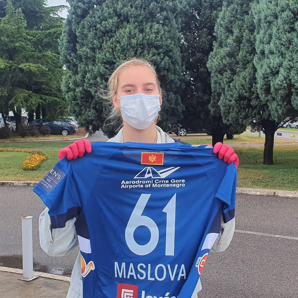 Maslova stigla u Podgoricu: Željno iščekujem izazove koji dolaze
