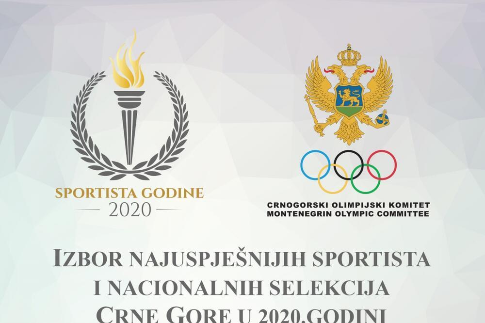 Poznati kandidati za najboljeg sportistu Crne Gore
